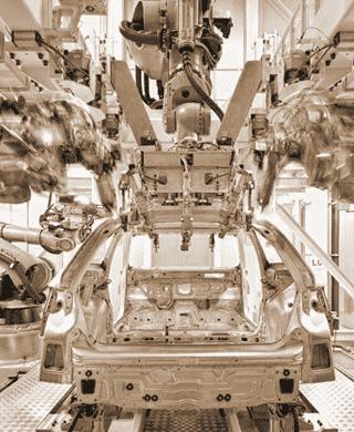Autoproduktion - Gewerbeleasing für KMU's