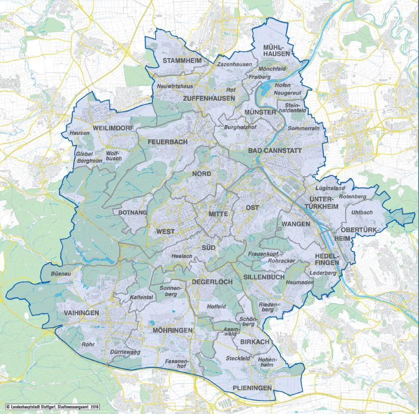 Dieselfahrverbot Stuttgart - in der gesamten Umweltzone