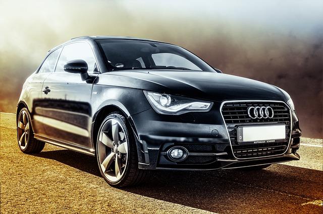Audi auf der Straße - Gewerbeleasing