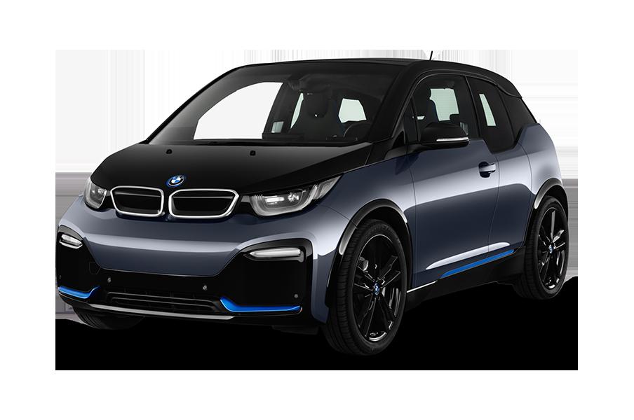 BMW i3 schwarz-grau-blau